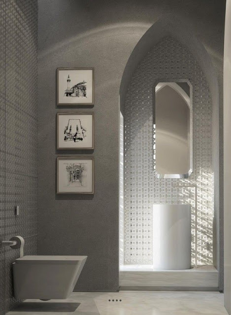 House Design Inside Bathroom