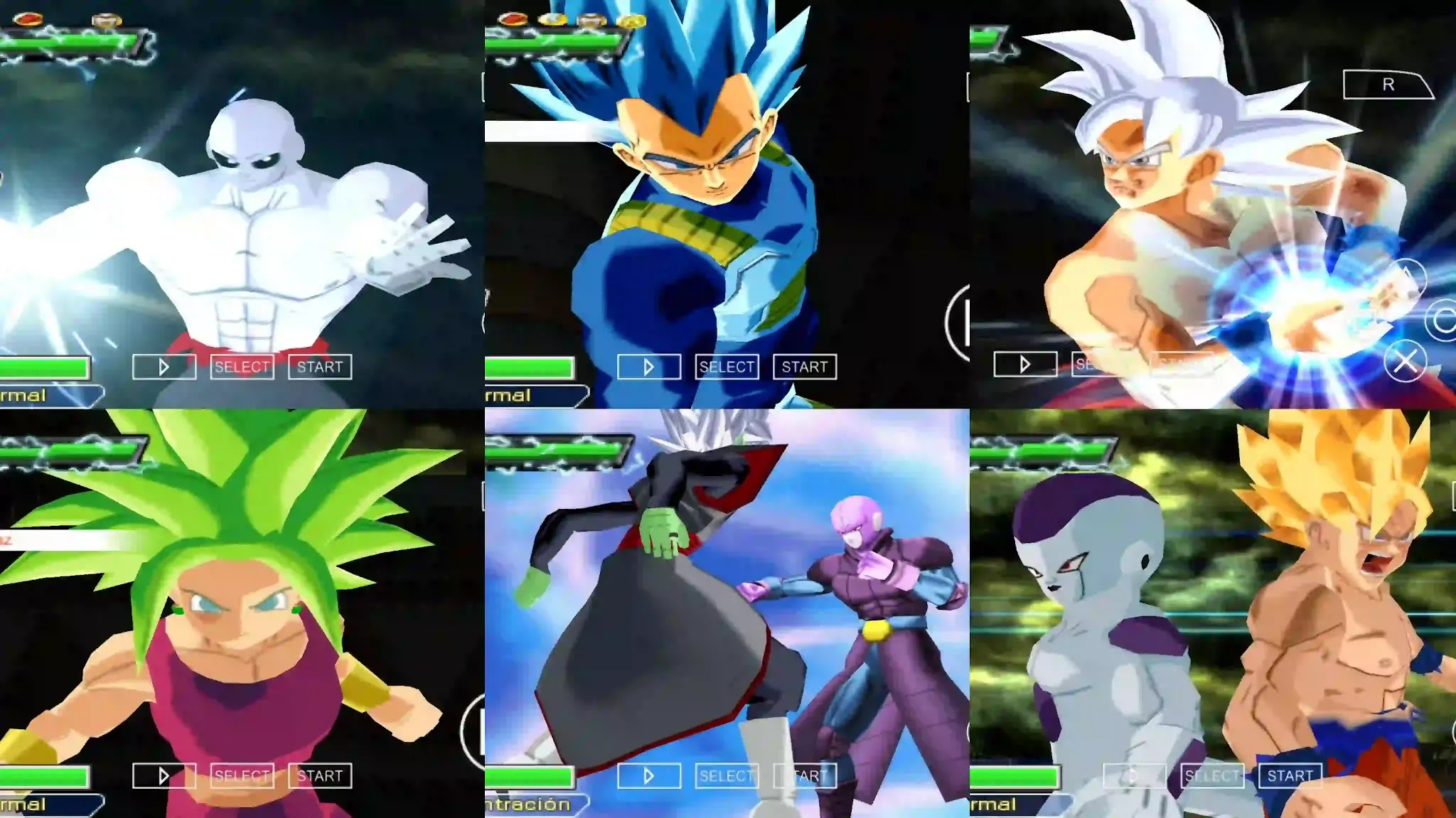 Dragon Ball Super Tournament of Power Characters