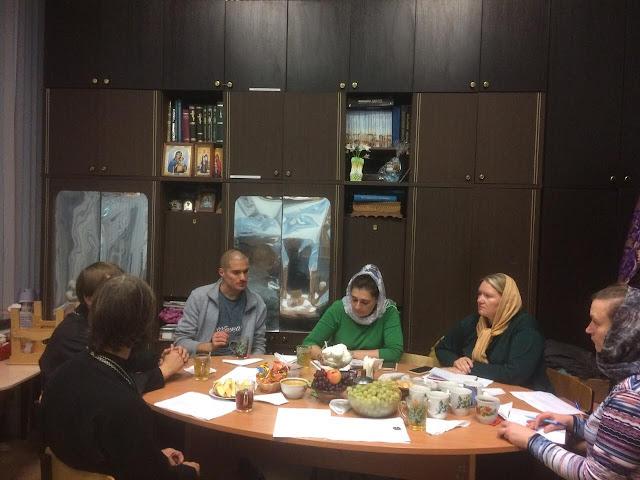 30 сентября в храме во имя св. пророка Самуила   состоялось совещание директоров воскресных школ  Центрального благочиния.