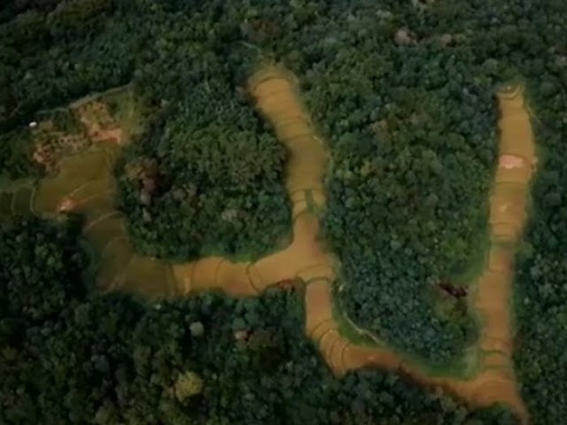 Viral Lafaz Allah Terekam Foto Satelit di Sawahlunto, Ternyata Bukan Settingan, Ini Videonya