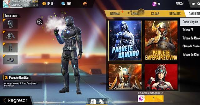 Bocoran Bundle Magic Cube FF Terbaru Skin Karakter Bandit 2019