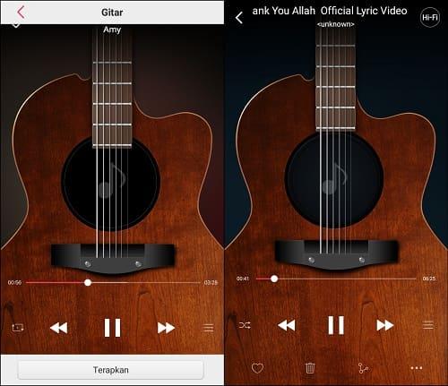 Cara Mengganti Tema Musik di Android