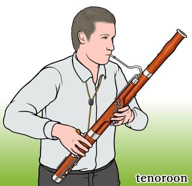 テノルーン  tenoroon(tenor fagotto)