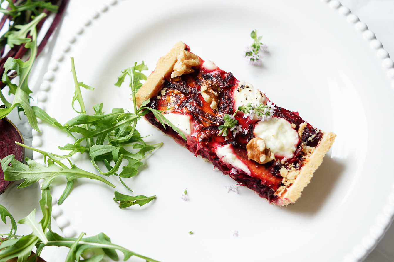 food-photography-beetroot-goats-cheese-tart-recipe