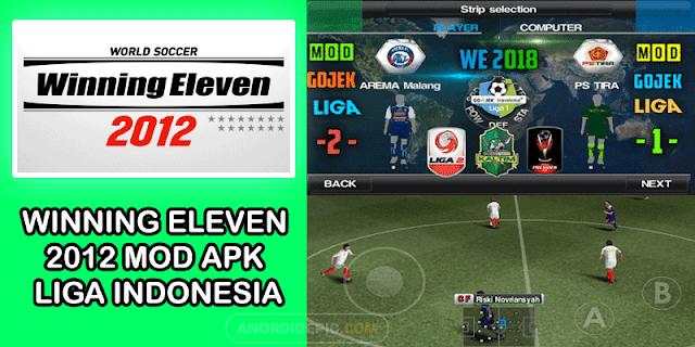 Download Winning Eleven 2012 Mod Apk Konami for Android