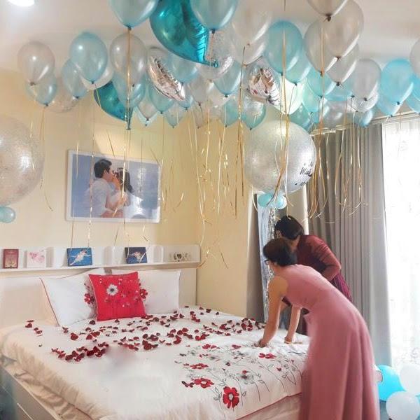 3 cách trang trí phòng cưới bằng bóng bay nhanh mà đẹp
