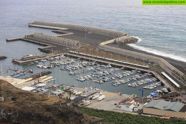 Puertos Canarios licita la obra de puesta en funcionamiento de la red contra incendios del puerto de Tazacorte