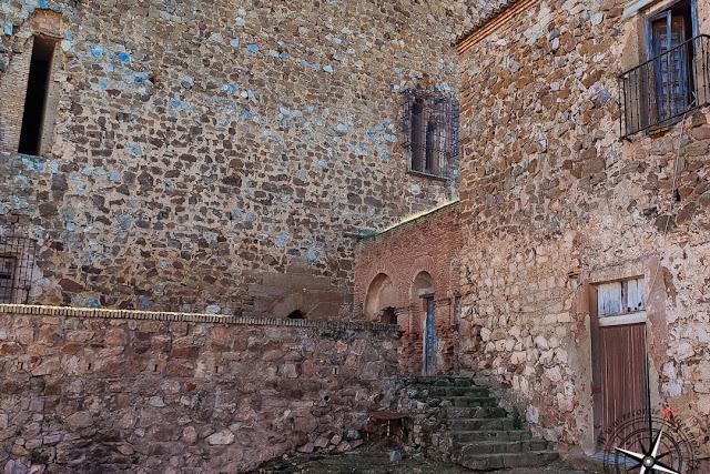 Patio del Castillo de Montizón