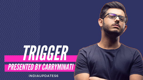 Carryminati New Video or new song trigger