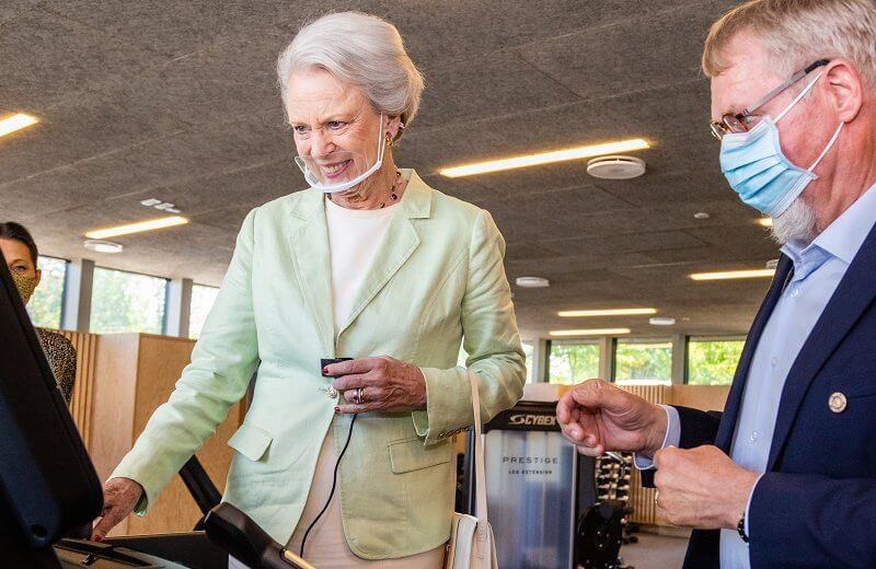 Princess Benedikte is patron of the Danish Sports Organization for the Disabled - Parasport Danmark