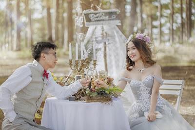 Lựa chọn thời điểm chụp ảnh cưới cách ngày cưới khoảng 2 tuần tránh cập rập