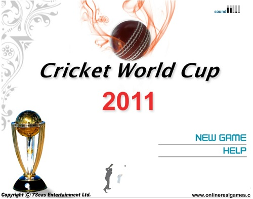 ICC World Cup 2011 Game
