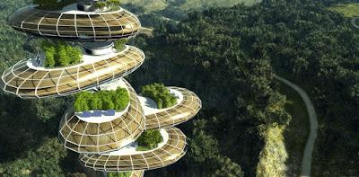 Solarpunk város