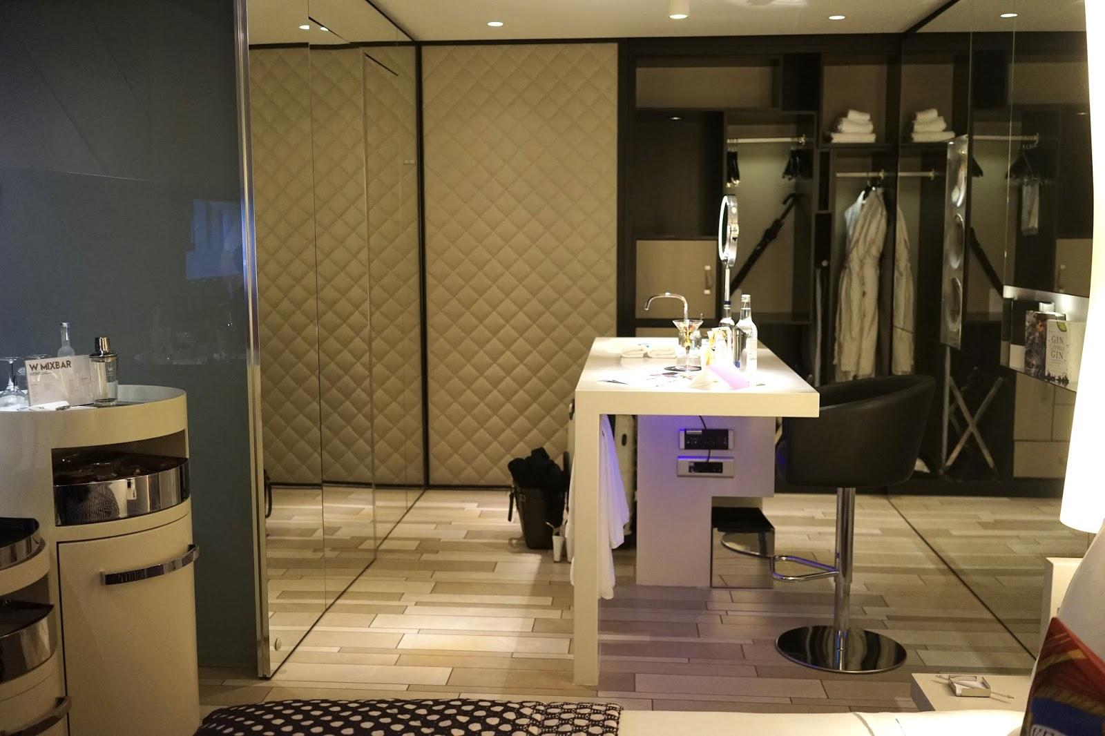 w hotel london room