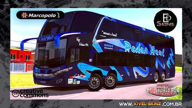 PARADISO G7 1800 DD 8X2 - VIAÇÃO PEDRA AZUL BLACK