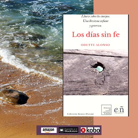 #POESÍA #EPUB Los días sin fe, de Odette Alonso