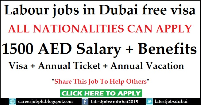 Labour jobs in Dubai