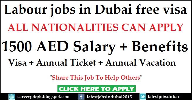 Unskilled Labour Jobs In Dubai Free Visa