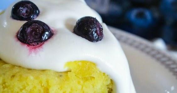 Keto Blueberry Mug Cake - The Best Recipes