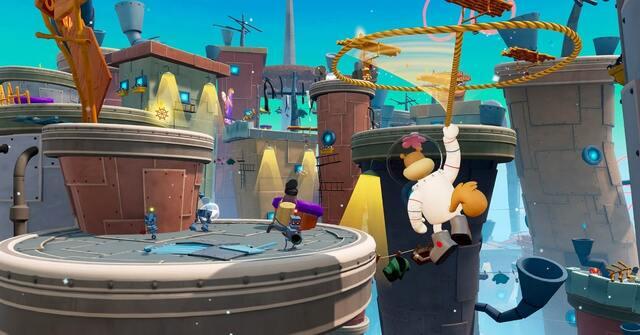 Spongebob Squarepants: Battle For Bikini Bottom Rehydrated Gameplay Image