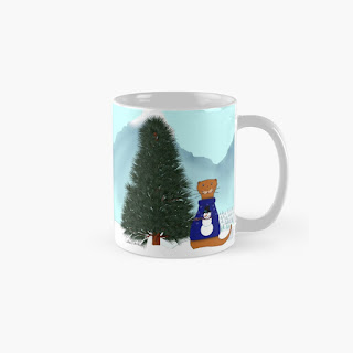 Oliver Finds His Christmas Tree Mug