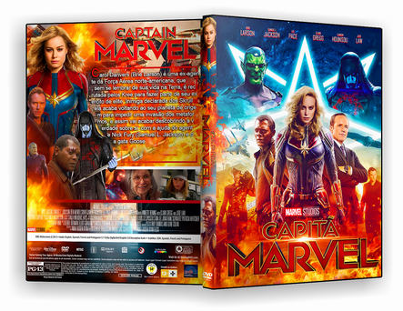 CAPA DVD -Capitã Marvel – ISO – CINEMA