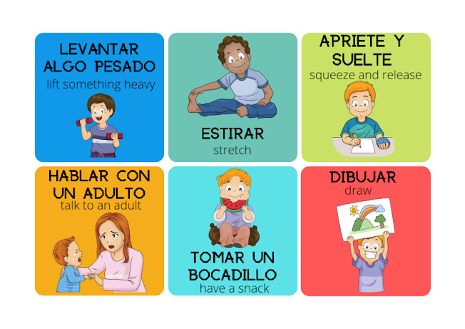 think in Spanish