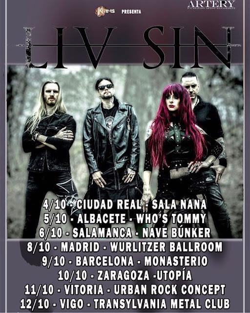 Liv Sin Tour