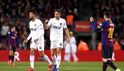 Barcelona vs Valencia CF final copa del rey 2019