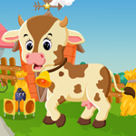 Games4King Cute Calf Escape