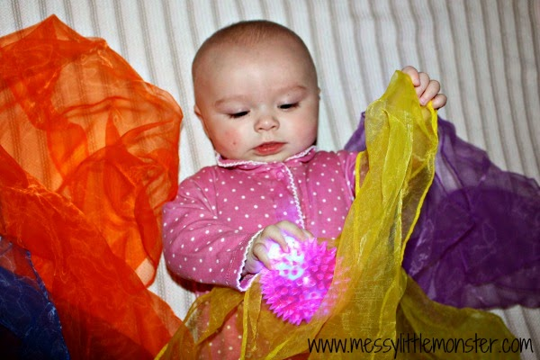 sensory play ideas for babies