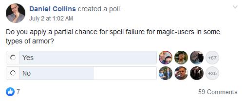Delta's D&D Hotspot: Sunday Survey: Wizard Spell Failure