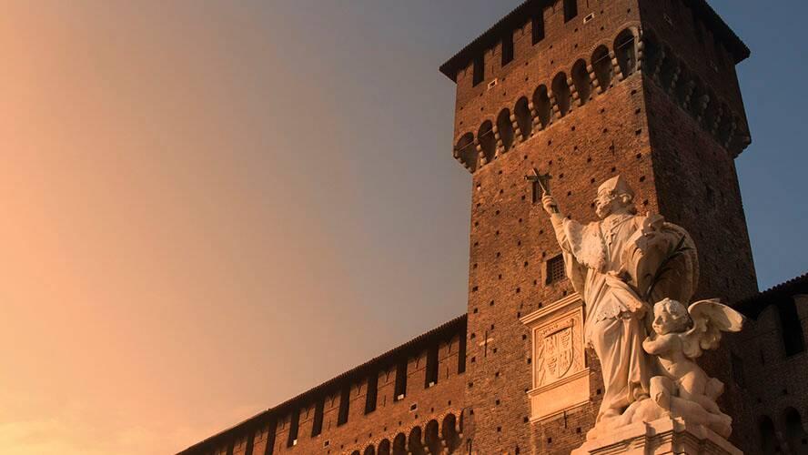 Sforzesco Castle Italy
