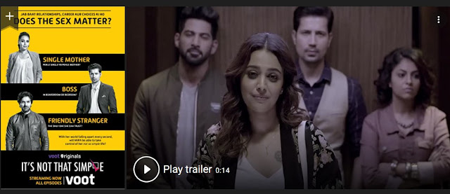 Play It's Not That Simple (2016) Hindi Web Series Trailer online for free