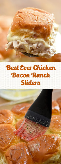 Best Ever Chicken Bacon Ranch Sliders