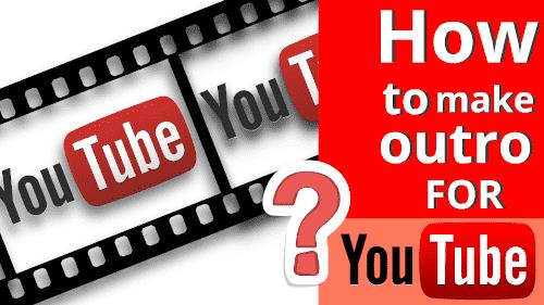 كيف تصنع نهايه فيديو احترافيه لقناتك في ٥ دقائق