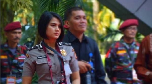 Penasaran Status Polwan Cantik di Bom Bandung? Ini Bocorannya