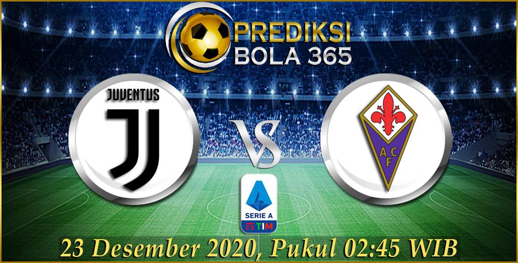 Prediksi Skor Juventus Vs Fiorentina Liga Italy 23 Desember 2020