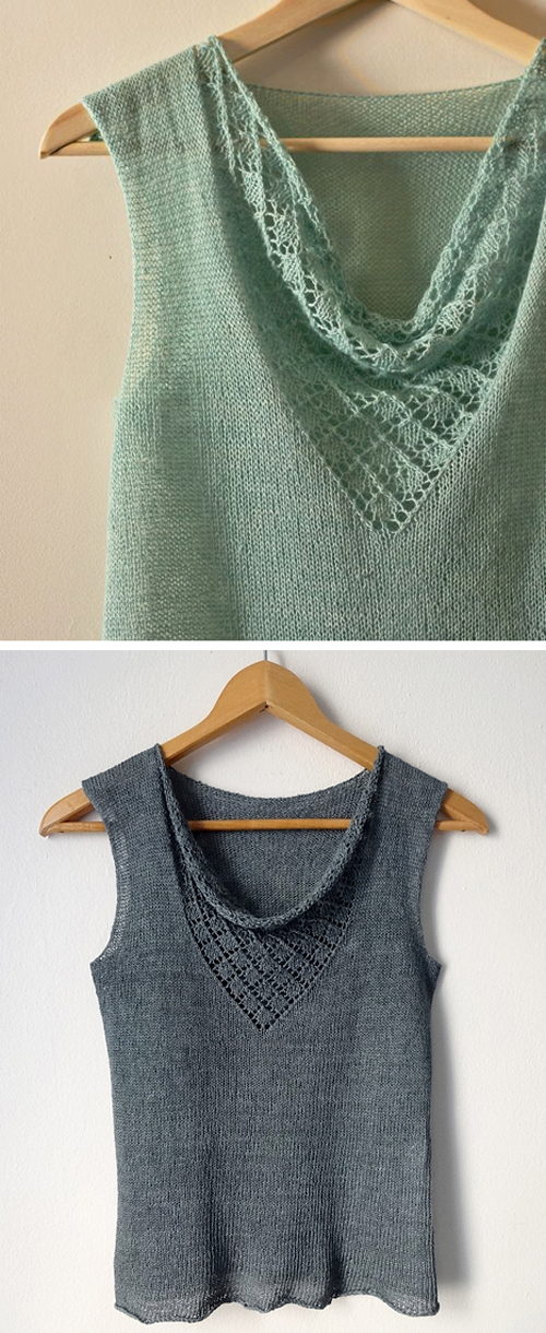 Bonny Shell Knit Pattern