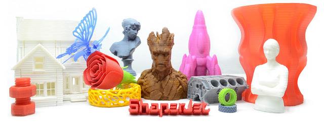 Print 3D Creative Business Opportunity Rich Art