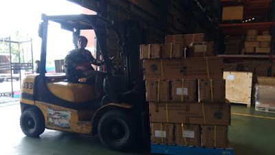 Jasa Import LCL Incoterm ExWork Charge Shenzhen-China  To Surabaya
