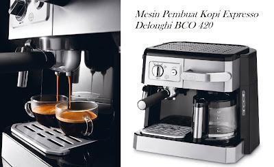 Mesin Pembuat Kopi Expresso Delonghi BCO 420