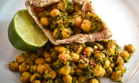 Chickpea Spinach Curry Recipe