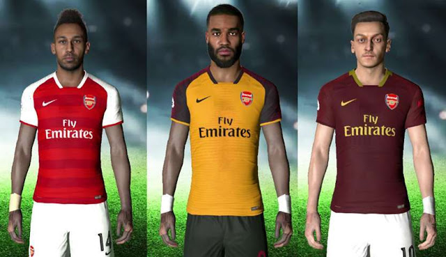 PES 2017 Arsenal Fantasy Kits