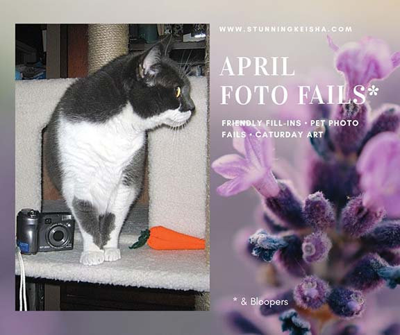 Feral Friday: April Bloopers & Other Fails