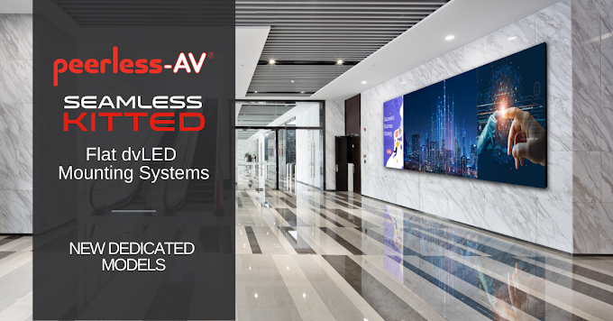 Peerless-AV® Adds to SEAMLESS Kitted Series dvLED Mounting Systems