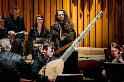 Handel: Brockes Passion - Cody Quattlebaum, Academy of Ancient Music, Richard Egarr - Barbican (Photo Robert Workman)