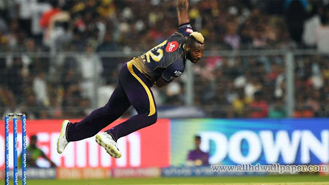 Andre Russell Bowling Photos
