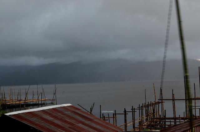 Rumpon Bambu di Danau Tondano, Tondano, Sulawesi Utara +jelajahsuwanto