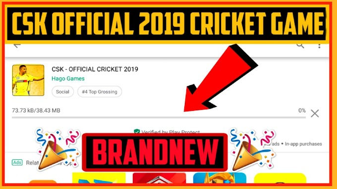 New Csk Offical IPL Cricket Game 0f 19